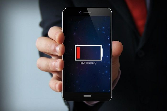 indikator baterai android error