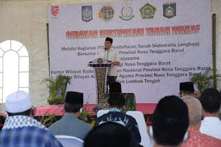 Gubernur Minta BPN Permudah Proses Pembuatan Sertifikat Tanah untuk Masyarakat