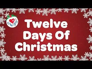 Twelve-Days-of-Christmas-Lyrics