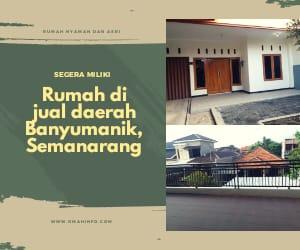 Dijual Sebuah Rumah nyaman dan Asri daerah Banyumanik Semarang
