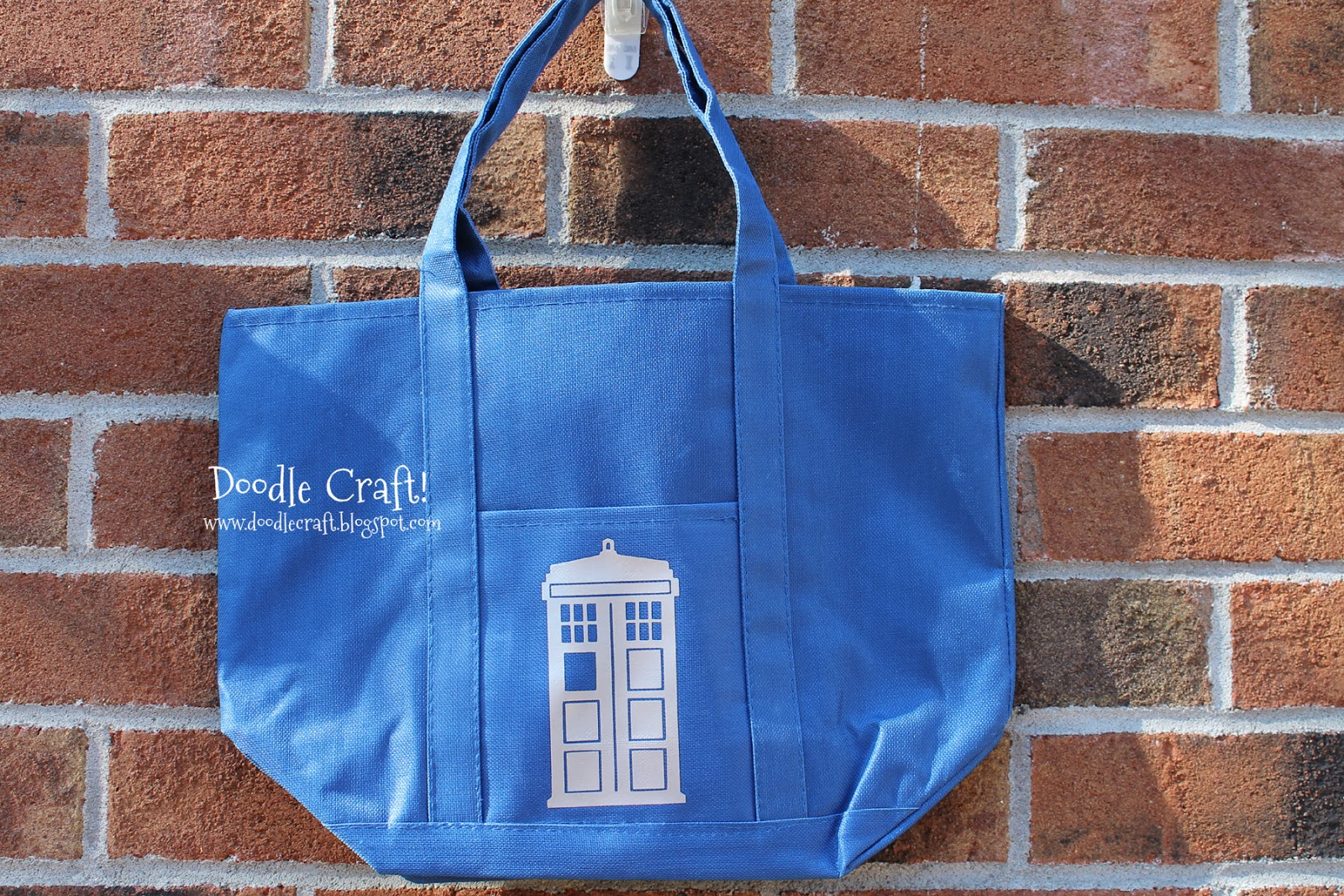 Doodlecraft Doctor Who Party Favors