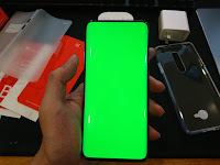 Oneplus 7 pro 全綠螢幕檢查