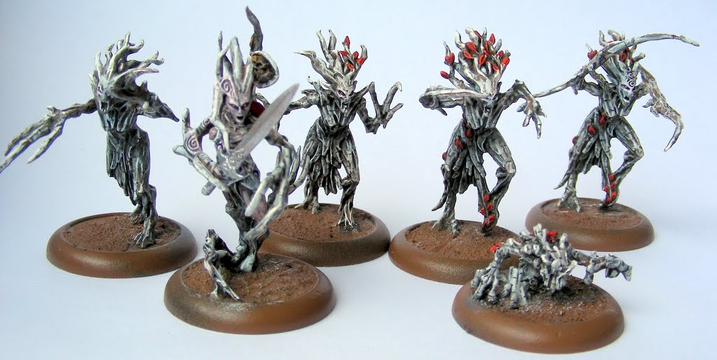 MAXXEV'S BLOG: Wood elves: Painting Dryads