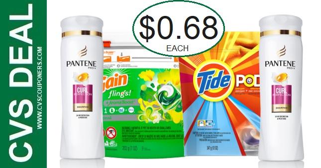 CVS Tide & Pantene Coupon Deal 9-5-9-11