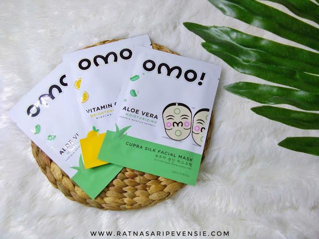 Review OMO! Cupra Silk Facial Mask