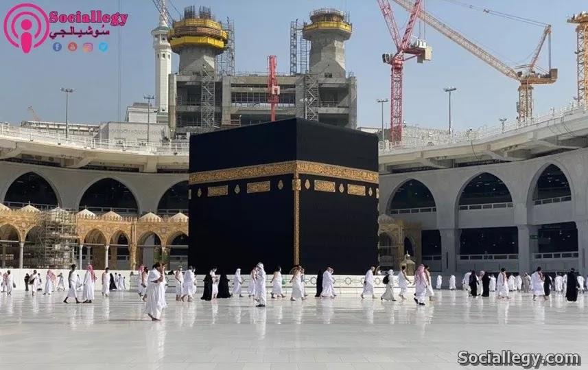مكة المكرمة مركز يابسة العالم