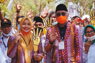 Hasil Survey Tinggi, Partai Garuda dan PSI Dukung IDP-Dahlan