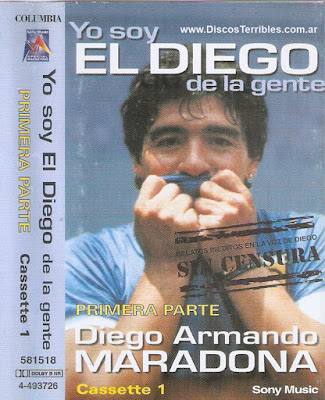 Maradona - yo soy el diego de la gente cassette