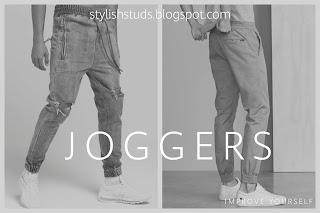 Men wearing a jogger pant