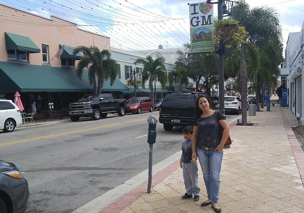 Clematis St, em West Palm Beach