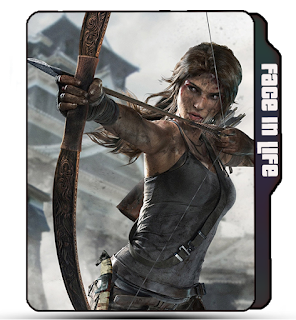 Preview of tomb raider, girl icon, official, poster, arrow, archery girl.