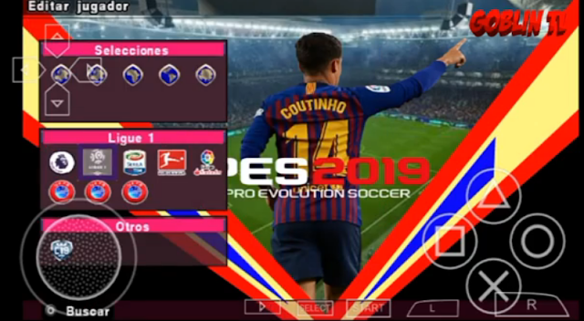 Download Game PPSSPP PES 19 Chelito v5 Update Tranfsers 2018-2019