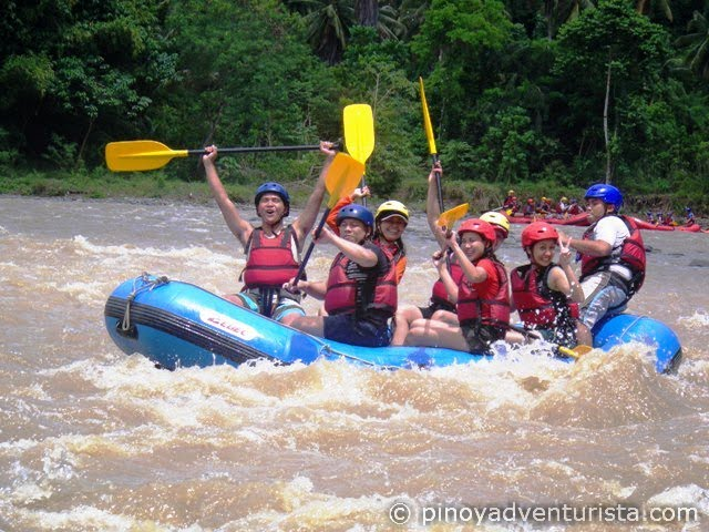 Whitewater Rafting in Davao