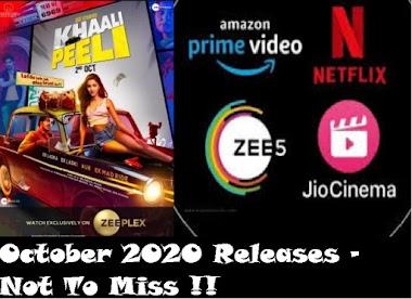 Best 5 Web Series To Watch In October 2020
