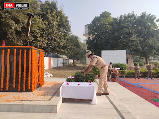 पुलिस स्मृति दिवस- प्राणों की आहुति देने वाले शहीद पुलिसकर्मियों को दी गई श्रद्धांजलि