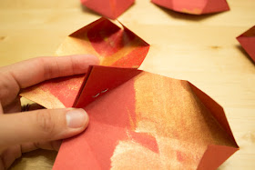 How to Make Gorgeous Painted Paper Lanterns for Chinese New Year - Such an awesome kids craft!