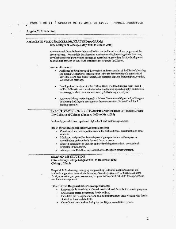 template academic cv