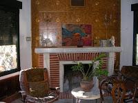 chalet en venta calle cronista revest castellon chimenea