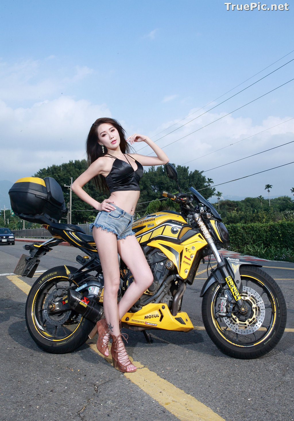 Image Taiwanese Model - Suki - Beautiful and Lovely Motor Racing Girl - TruePic.net - Picture-2