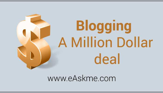 Blogging A Million Dollar deal: eAskme