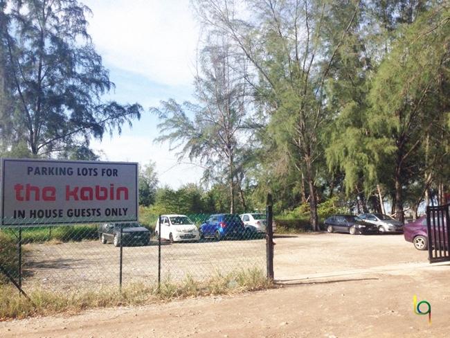 The Kabin Pantai Remis Kuala Selangor Parking Lot
