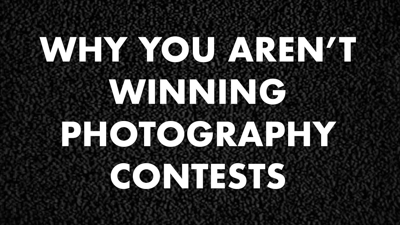 Why You Aren't Winning Photography Contests by Zack Arias