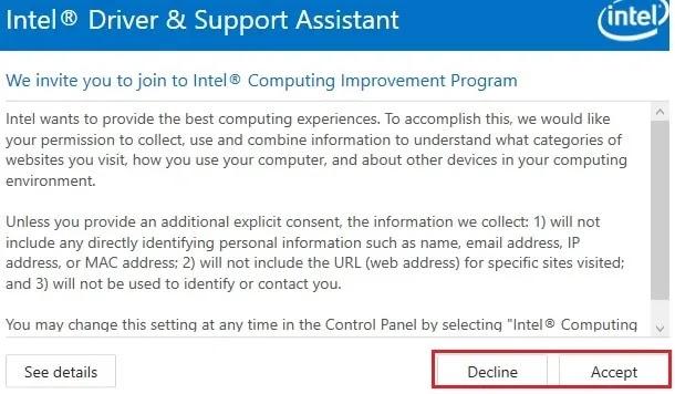 تحميل Intel Graphics Driver  وإصلاحات Cyberpunk 2077 وألعاب أخرى