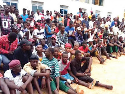 500 Political Thugs Surrender Arms in Bauchi