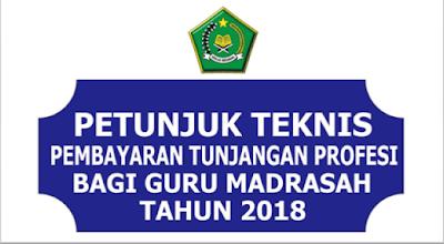 Download Juknis Pembayaran TPG Kemenag 2018 PDF
