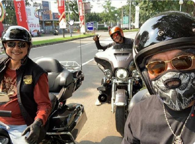 Hobi Touring, Eks Dirut Jiwasraya Punya 3 Harley Davidson