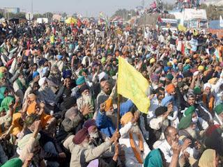 farmers protest hindi