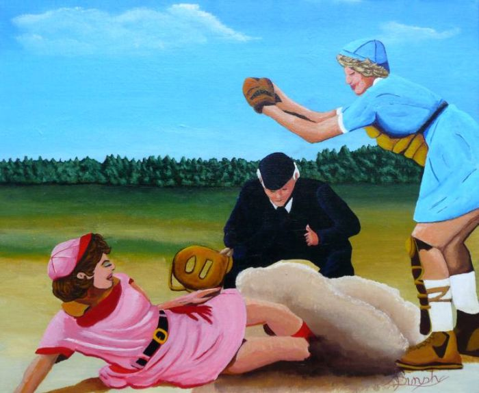 Смесь реализма, импрессионизма и экспрессионизма. Anthony Dunphy