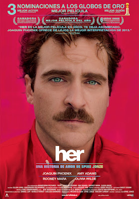 Her (2013) - Poster