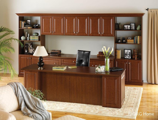 best custom wood home office desk with filing cabinet design ideas