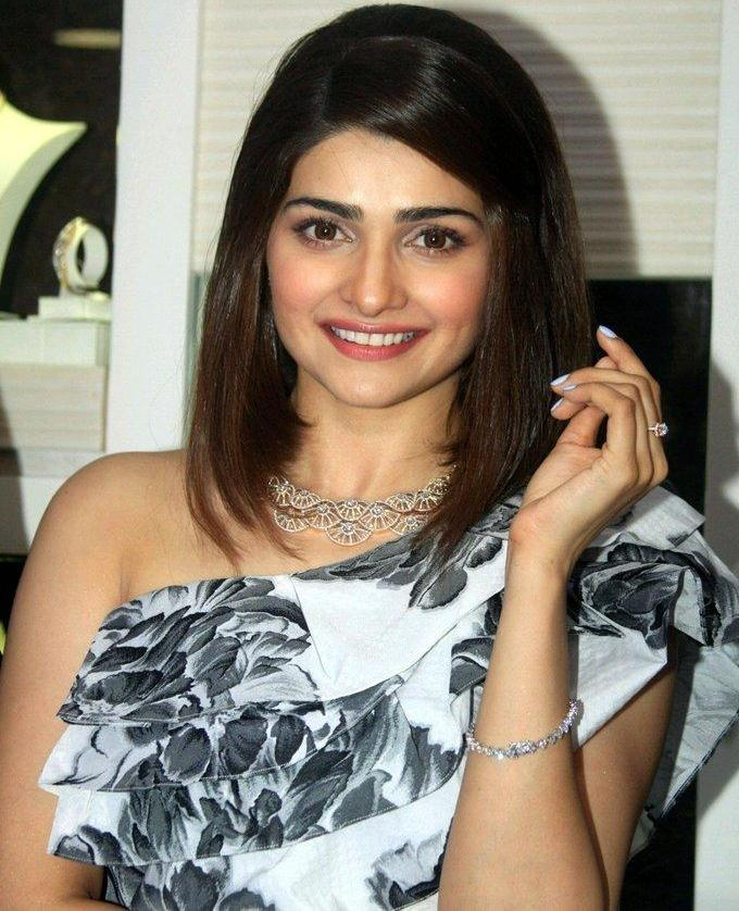 Prachi Desai At Om Jewelers Store Opening In Black Dress