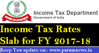 ITR-SLABS-FOR-FY-2017-18