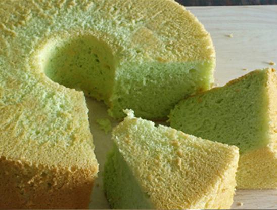 Kitchentigress Pandan Chiffon Cake Ii