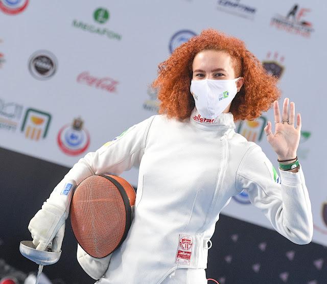 Clara Amaral esgrima brasil fencing espada epee