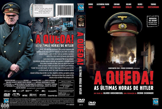 Capa DVD A Queda! As Últimas Horas de Hitler