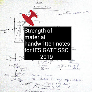 pdf of som ,handwritten notes of strength of material