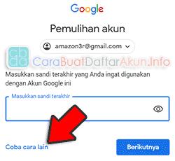 cara mengembalikan akun google di hp yang hilang