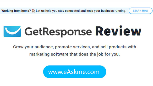 GetResponse Review: Get Acquainted with New Form of Marketing: eAskme