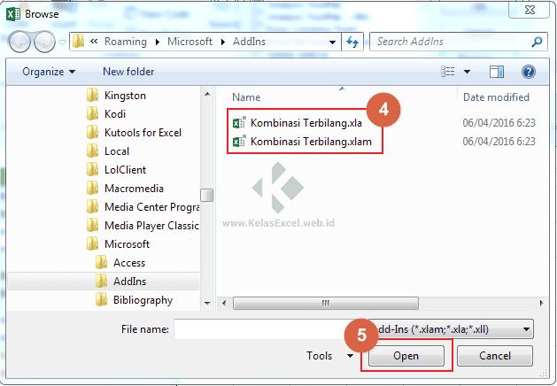 Add-In Fungsi Terbilang Excel