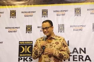 PKS Buka Opsi Usung Anies Lagi di Pilkada DKI