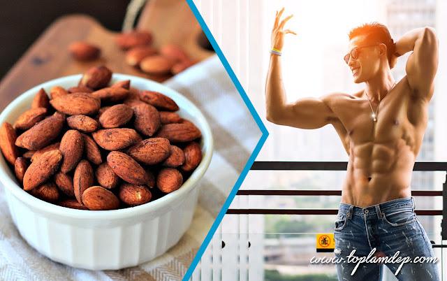 Ăn hạt HẠNH NHÂN là sự lựa chọn tốt nhất đối với thể hình