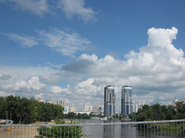 Фото Виталия Бабенко: облака