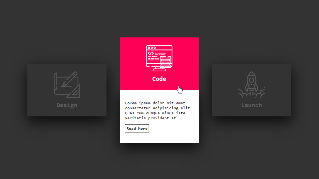 Awesome Card Hover Effects Using HTML and CSS