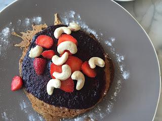 gluten-free pancakes at Cafe Organic in Seminyak Bali