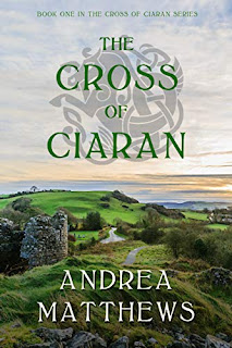 Cross of Ciaran - a paranormal Celtic romance book promotion by Andrea Matthews