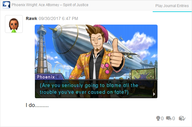 Phoenix Wright Ace Attorney Spirit of Justice Larry Butz fate trouble